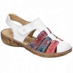 Kvinners sandaler Comfortabel 720109 white