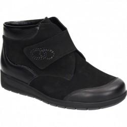 Широкие демисезонные ботинки Waldlaufer 990593-1 ширина M