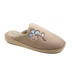 Women's slippers IN8514 beige