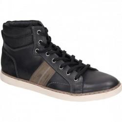 Men's autumn low boots with little warming Manitu 660418 grey