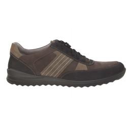 Мужские кожаные кроссовки больших размеров Jomos 319312