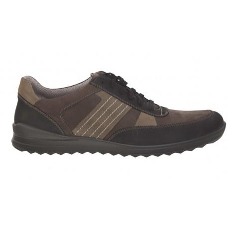 Liela izmēra ādas botas vīriešiem Jomos 319312
