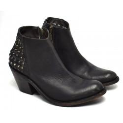 Осенние, демисезонные ботинки. Ручная работа LIBERTY BLACK