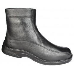 Store vinter herrestøvler med ekte saueskinn Jomos 406502