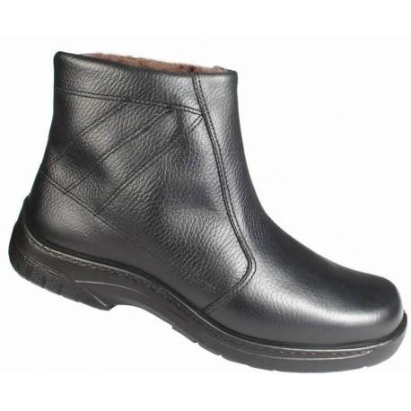 Store vinter herrestøvler med ekte saueskinn Jomos 406504
