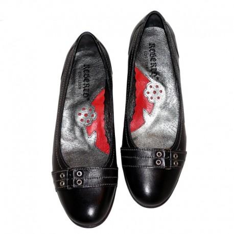 Liela izmēra sieviešu balerīntipa kurpes PS-243
