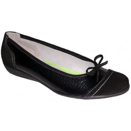 Liela izmēra sieviešu balerīntipa kurpes PS-245