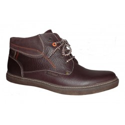 Men's big size winter boots PS-291 chocolat