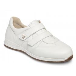 Ādas brīvā laika apavi platākai pēdai DB Shoes 78459W 2 V