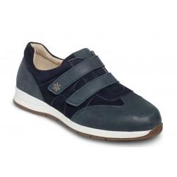 Zamšādas/nubuka brīvā laika apavi platākai pēdai DB Shoes 78459N 2 V