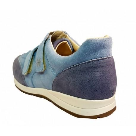 Zamšādas/nubuka brīvā laika apavi platākai pēdai DB Shoes 78459X 2 V