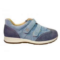 Semsket brede fritidssko DB Shoes 78459X 2 V