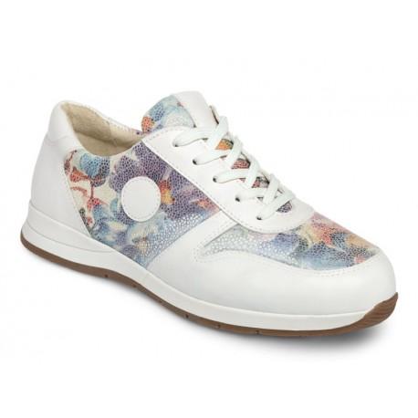 Ādas brīvā laika apavi platākai pēdai DB Shoes 78455W 2 V