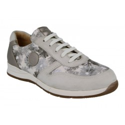Leather trainers for wider feet DB Shoes 78455S 2 V