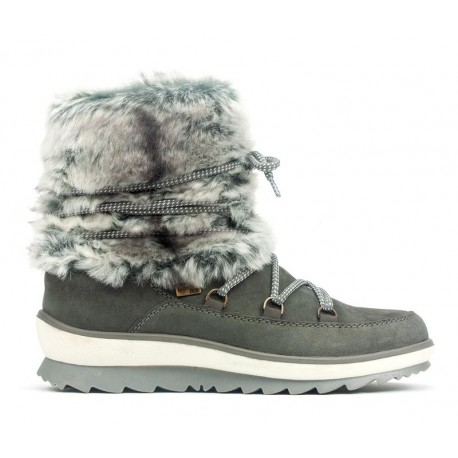 Winter low boots with natural wool Remonte TEX R4381-45