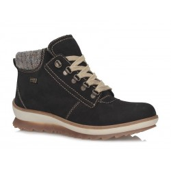 Winter low boots with natural wool Remonte TEX R4378-02