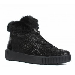 Winter lace up low boots (with zipper) Remonte R7970-02