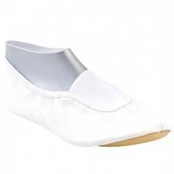 Белые танцевальные гимнастические тапочки 153622