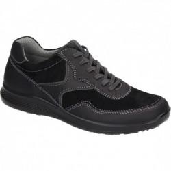 Мужские кожаные кроссовки большого размера Comfortabel 641420