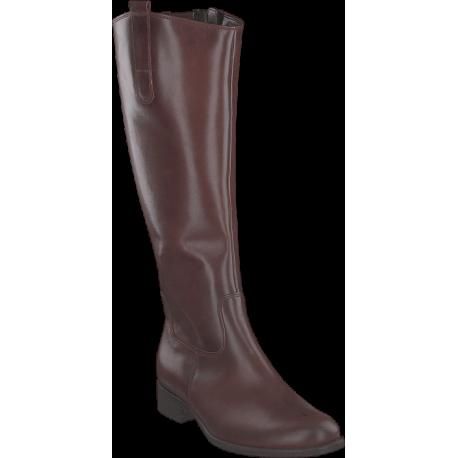 Store størrelser kvinners brun høstens støvler Gabor 91.649.22