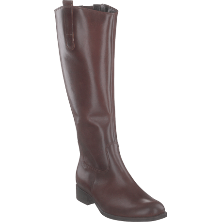 Women's autumn brown boots in big sizes Gabor 91.649.22