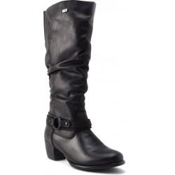Melni sieviešu rudens zābaki Remonte R2673-01