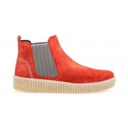 Женские красные демисезонные ботинки большого размера 93.731.35