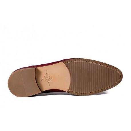 Men's big size shoes Jandre 6261-A218 bordo