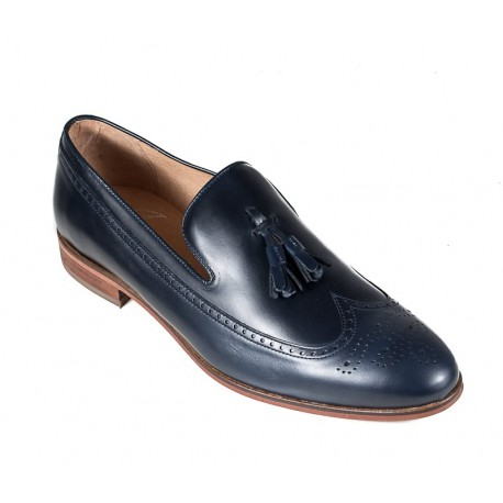 Zilas liela izmēra vīriešu kurpes  Jandre 2554-A218 navy