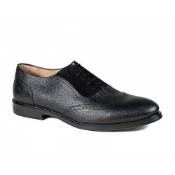Men's big size black shoes  Jandre 6398