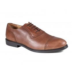 Коричневые мужские туфли большого размера Jandre 1998