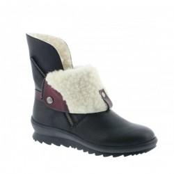 Vinterstøvletter med naturlig saueull Remonte R4377-01