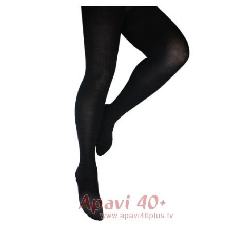 Plus size tights from cotton.
