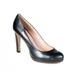 Melnas liela izmēra sieviešu augstpapēžu kurpes XAIRA XA0028