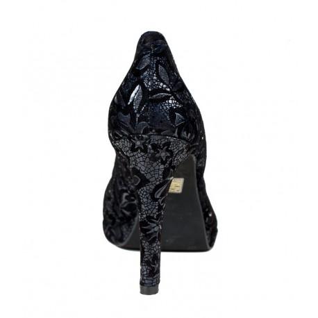 Melnas liela izmēra sieviešu augstpapēžu kurpes XAIRA XA0028 marlow