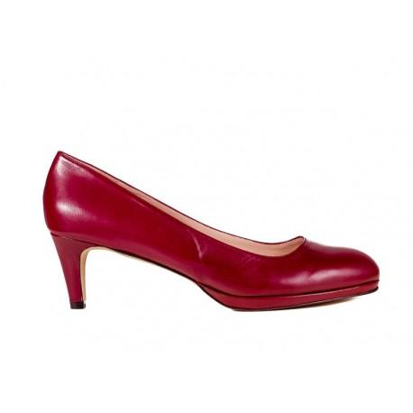 Bordo liela izmēra sieviešu kurpes XAIRA XA0105