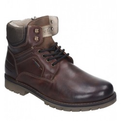 Мужские зимние ботинки на шнурках PolarTEX Manitu 670600 braun