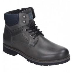 Мужские зимние ботинки на шнурках PolarTEX Manitu 670600 grau