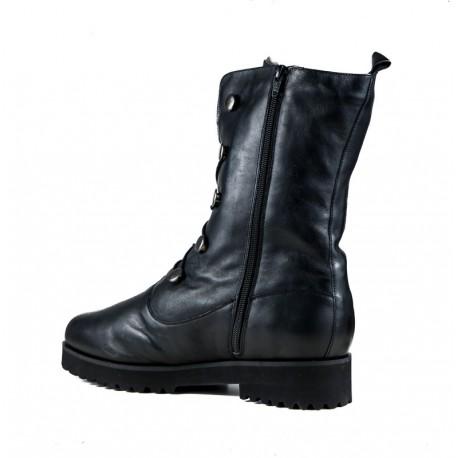 Big size winter mid-calf boots with genuine sheepskin PieSanto 185753