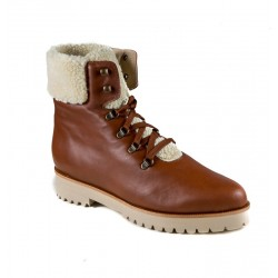 Big size winter low boots PieSanto 185746 conac