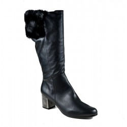 Women's autumn big size wide calf boots PieSanto 185396