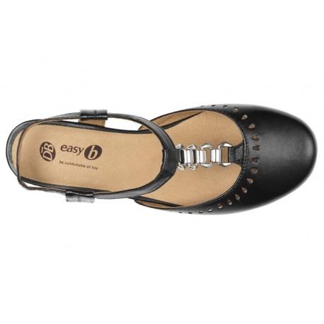 Platas sandales ar slēgtu purngalu DB Shoes 78463A 4E