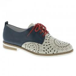 Lielas šņorējamas sieviešu kurpes – oksfordi Remonte D2612-81