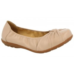 Extra wide fit women's flats DB Shoes 70624H 6V