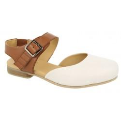 Brede sandal med lukket tå DB Shoes 78702W 4E