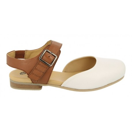 Platas sandales ar slēgtu purngalu DB Shoes 78702W 4E