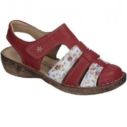 Kvinners sandaler Comfortabel 720129 red