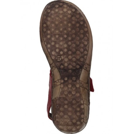 Sieviešu sandales ar slēgtu purngalu Comfortabel 720129 red