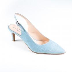 Sieviešu sandales uz vidēja papēža ar slēgtu purngalu Brenda Zaro T1595C