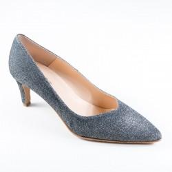 Big size women's shoes kitten heel Brenda Zaro T1070M